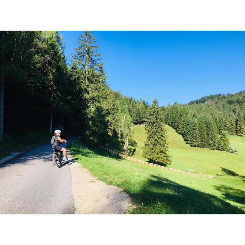 Imagen 2 de Tanja sobre Löffler - Women's Bike-Hose Tour Extrakurz - Pantalones de ciclismo