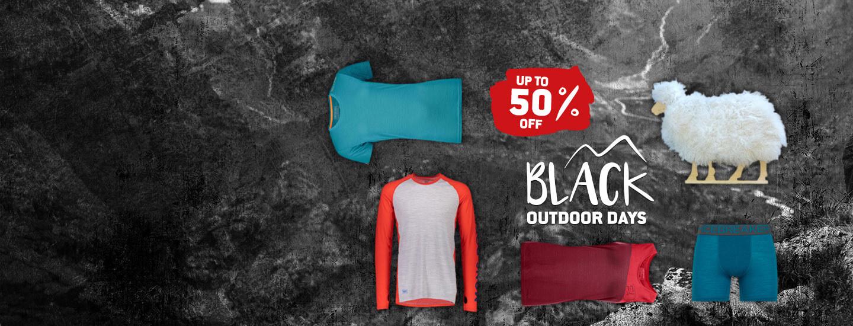 Black Outdoor Days - Wild & woolly deals