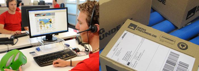 ¡Estamos a tu disposición! Nuestro servicio de atención al cliente te asesora y el departamento de logística se encarga de realizar una entrega rápida